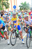LTDL Stage 6 Yellow Jersey Winner Stock Photography