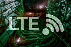 LTE, 5g wireless internet technology concept.  stock photo