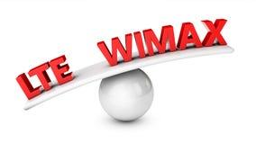 LTE und WIMAX Lizenzfreies Stockfoto