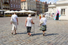 Ältere Frauen Stockfotografie