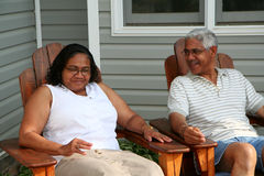 Ältere Paare Stockfoto