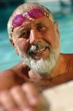 Älterer ausarbeitender Mann Lizenzfreies Stockfoto