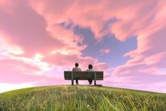 Älterer Hügel Lizenzfreies Stockfoto