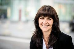 Älteres Geschäftsfrauportrait Lizenzfreie Stockfotografie