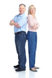 Älterpaare Lizenzfreie Stockfotografie