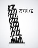 Ltower of pisa Royalty Free Stock Photography