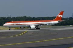 LTU空中客车A330 免版税库存图片