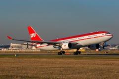 LTU airbus A330 Στοκ Εικόνες