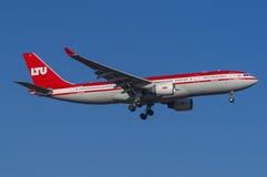LTU airbus A330 Στοκ φωτογραφίες με δικαίωμα ελεύθερης χρήσης