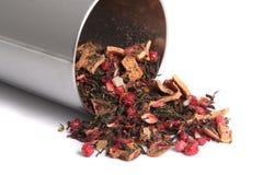 Luźna mieszana jagodowa herbata zdjęcia stock