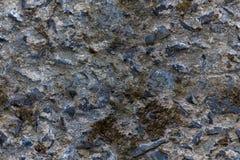 Luźno zacementowana skały ściana, redagująca dla tileable/repea płynnie Fotografia Royalty Free