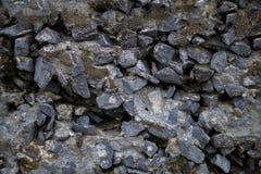 Luźno zacementowane skały, redagować dla tileable/repeatabl płynnie Zdjęcia Royalty Free