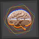 Luźny twój umysł Fotografia Royalty Free