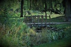 Lužánky Footbridge Royalty Free Stock Photography