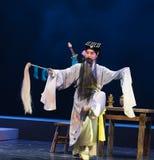 "Lu Dongbin van Chinees taoïsme-verslag van Handan - jiangxi opera""four dromen van linchuan† Stock Foto's"