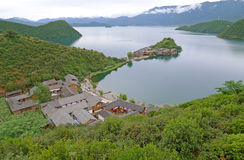 Lu gu lake Stock Photography