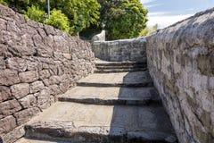 Luźni kamieni kroki Zdjęcia Stock