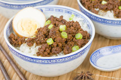 Lu Rou Fan Stock Image