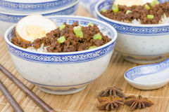 Lu Rou Fan Stock Images