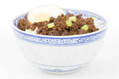 Lu Rou Fan Royalty Free Stock Photography