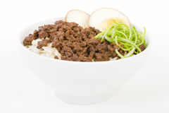 Lu Rou Fan Stock Photo