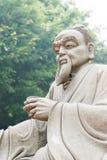 ФУЦЗЯНЬ, КИТАЙ - 23-ье декабря 2015: Статуя Lu Yu на грандиозном чае взгляда стоковые изображения rf