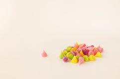 A-Lua是五颜六色的泰国甜点 图库摄影