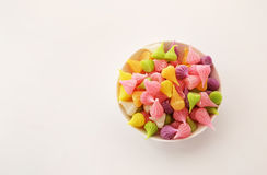 A-Lua是五颜六色的泰国甜点 免版税库存图片