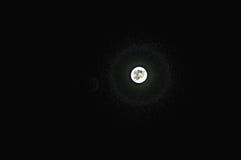 lua à noite Imagem de Stock