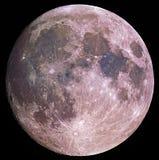 A lua Fotografia de Stock