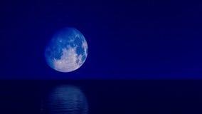 Lua azul 04 Fotografia de Stock