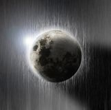 Lua bonita Imagem de Stock Royalty Free