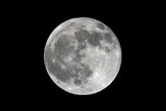 A Lua cheia imagens de stock royalty free