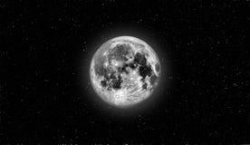 Lua cheia ilustração stock