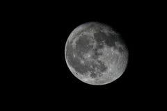 Lua cheia com detalhes afiados Fotos de Stock