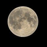 Lua cheia desencapada Fotos de Stock Royalty Free