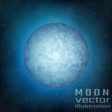 Lua cheia no céu Imagem de Stock Royalty Free