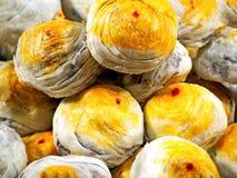 A lua chinesa endurece pastelarias chinesas imagens de stock