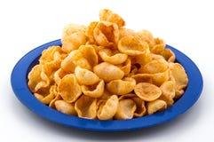 Lua Chips Food Fotografia de Stock