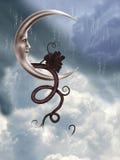 Lua da fantasia Ilustração do Vetor