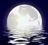 Lua da noite Fotos de Stock