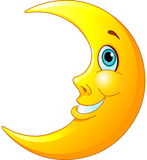 Lua de sorriso Fotografia de Stock