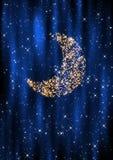 Lua do Natal Imagens de Stock