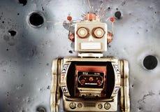 Lua do robô fotografia de stock