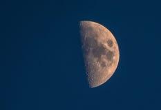 A lua… em uma noite nebulosa Imagem de Stock Royalty Free