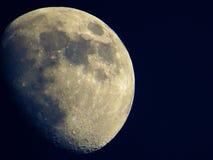 A lua… em uma noite nebulosa Fotos de Stock