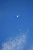 Lua no céu Foto de Stock