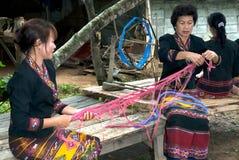 Lua wzgórza plemię zrobi bambus w T mniejszość wiruje rolki Obraz Royalty Free