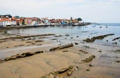 Luanco en España Foto de archivo
