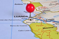Luanda Angola Royalty Free Stock Photos